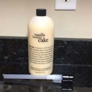 Philosophy shampoo, shower gel & bubble bath